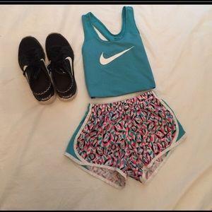Girls Nike Blue Racerback LG!